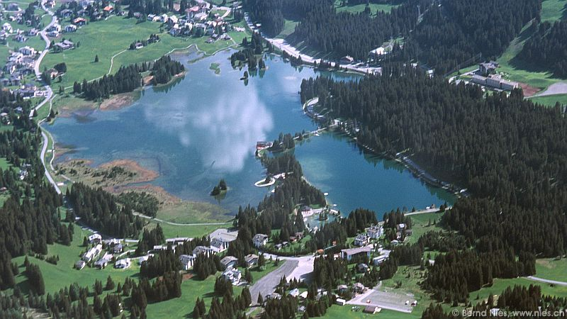 Lenzerheide Switzerland  city photos gallery : Lenzerheide / Scenic Flight East and Central Switzerland / Aerial ...